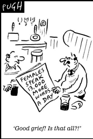 Women really do talk more than men (13,000 words a day