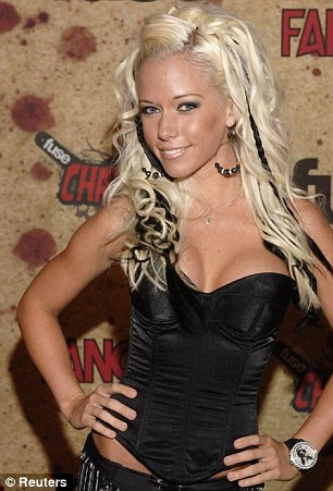 Racy past: The reality star, pictured in 2006, said she expected her son to discover her Playboy past sooner or later