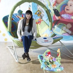 Vibrating Chair Baby Patio Repair Parts Who's A Big Baby? Huge Adult-size Bouncy Gives Parents The Chance To Look Through Their ...