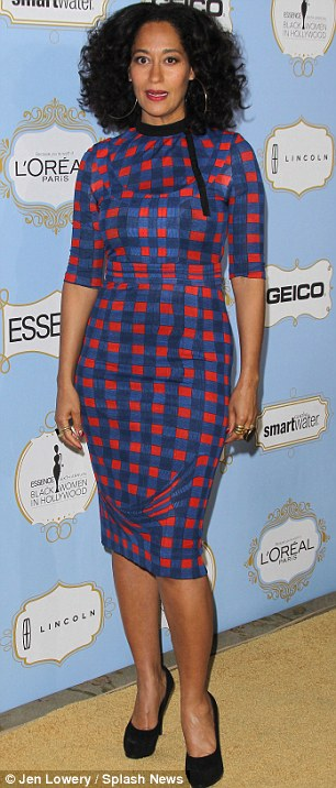 Pretty in prints: Actresses Meagan Good and Tracee Ellis Ross