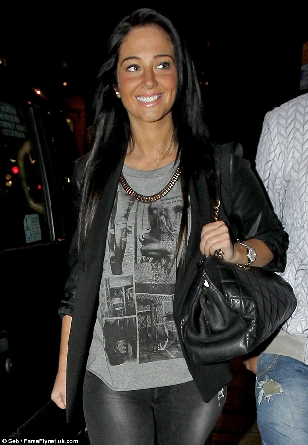 Planning to move on... Tulisa's father hinted that the N-Dubz star only does the talent show for the money