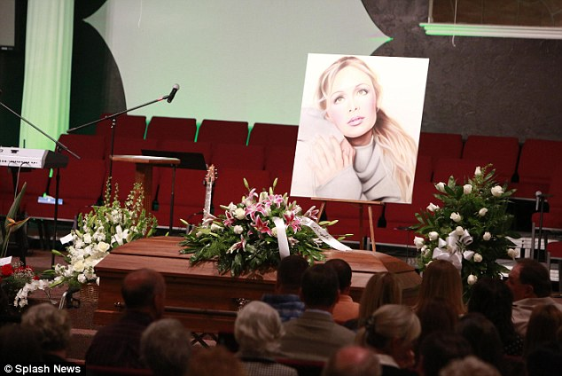 Mindy McCready's emotional funeral took place in Fort Myers, the Florida city where she was born and raised today
