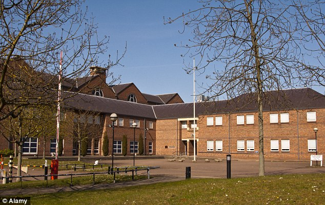 The girl was subjected to a string of assaults over four days after being trafficked from her home in London to Ipswich, prosecutors told Norwich Crown Court (pictured)