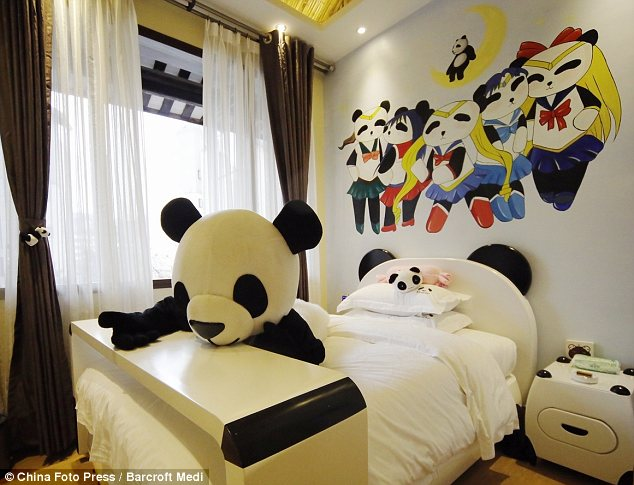 Animal Print Wallpaper For Bedrooms Panda Hotel China To Open Hotel Dedicated To The Panda
