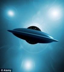 UFO Shoots Meteor California Coastline