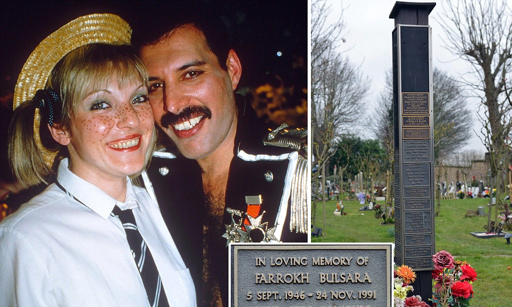 Where HAS Freddie Mercurys Wife Hidden His Ashes The