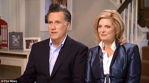 Failed presidential candidate Mitt Romney and wife Ann have given their first post-election interview to Fox News.