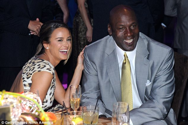 Engaged: Jordan is pictured with his fiancée Yvette Prieto, whom he is set to marry April 27