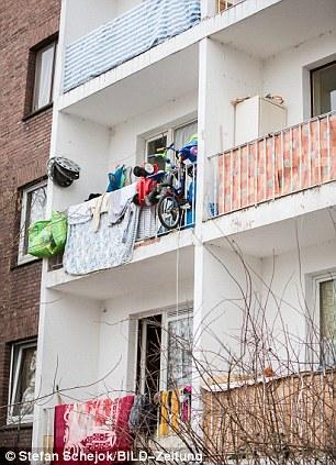 Cramped: Cientos de Roma se metan en edificios en ruinas en la Duisburg, alcalde de la ciudad, dijo