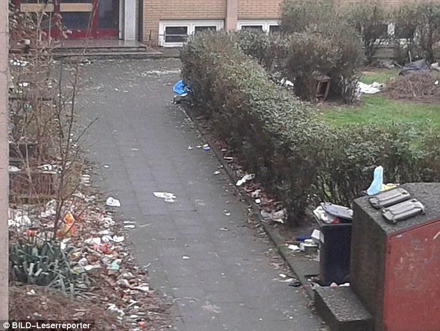 """""""Las montañas de basura ': Enlace Soeren descrito montañas de desperdicio"""" más alto que yo """"vivienda edificios fuera de la ciudad de Roma de la comunidad"""