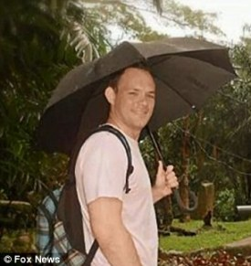 Warning signs: Todd became increasingly paranoid during his last couple weeks in Singapore