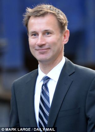 Proposals for an NHS card have been sent to Health Secretary Jeremy Hunt