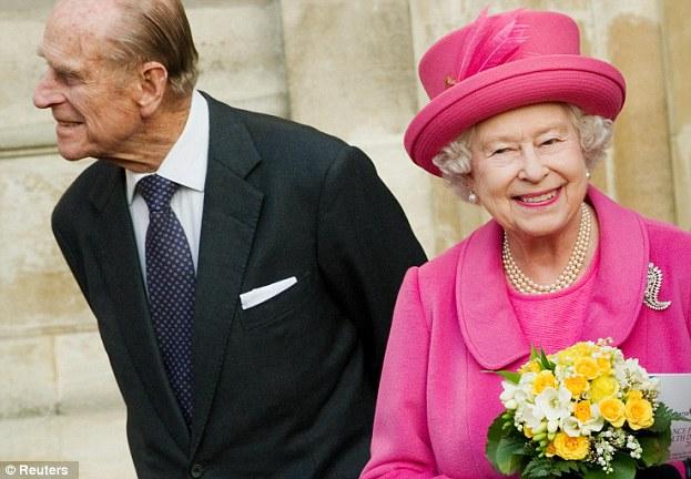 Britain's Queen Elizabeth and Prince Philip
