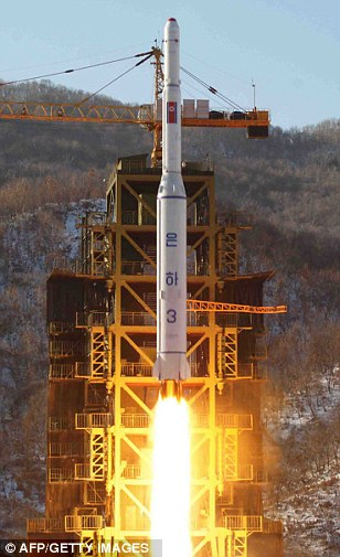 North Korean rocket Unha-3