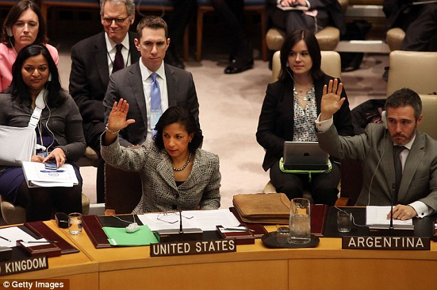 U.S. Ambassador to the U.N. Susan Rice said North Korea would achieve nothing by threats