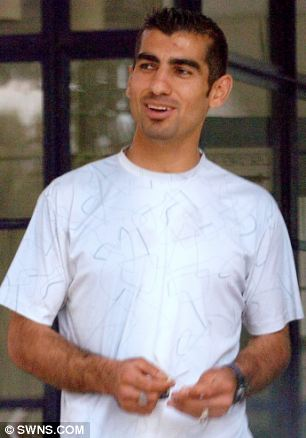 smirking sexcase Mohammed was seen hanging around a Peterborough playground where he met two 13-year-old girls on a number of occasions, offering to take them home and trying to put his hands down one of girl's pants