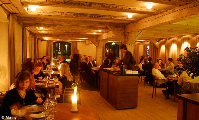 Elite restaurant: But diners at Noma in Copenhagen were struck ill after eating there last month