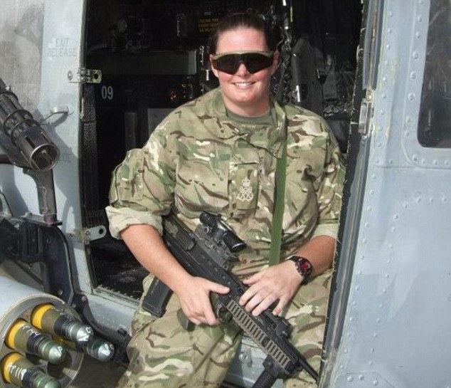 What a way to treat a heroine Royal Navy girl who fought