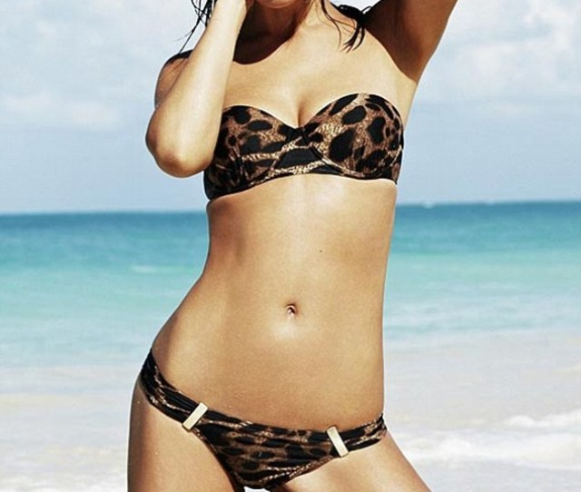 Too Hot To Touch Myleene Sizzles And Looks Sultry As She Poses In A Bikini