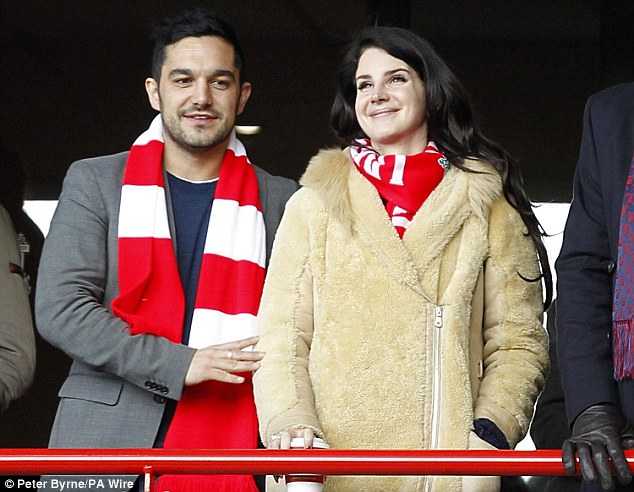 Guest: Singer Lana Del Rey was in the stands at Anfield