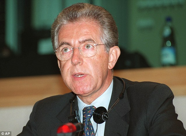 In the recent general election in Italy, Prime Minister Mario Monti - who sought to impose Brussels' austerity measures - polled just 9 per cent of the vote