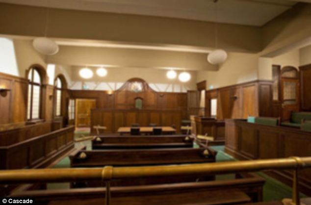 The courtroom set measures 1,000 ft and has been used in The Bill, This is Jinsy and Dead Boss