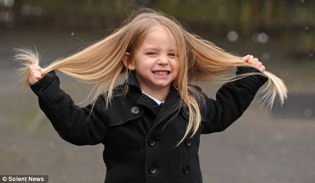 Little Boy 3 To Have 2ft Long Hair Cut Off For Charity