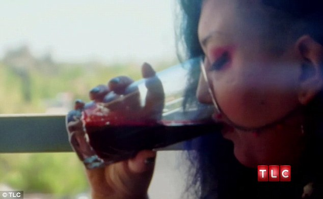 Drinking blood