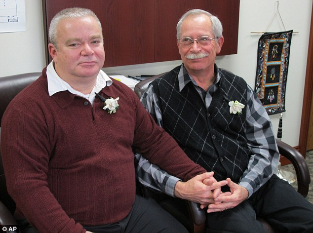First Gay Marriage In Michigan Takes Place Despite State