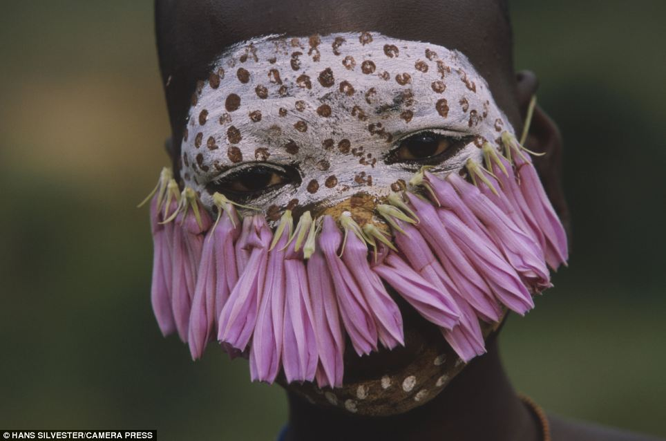 Decorative: The tribe members often fashion their beautiful headdresses out of flowers