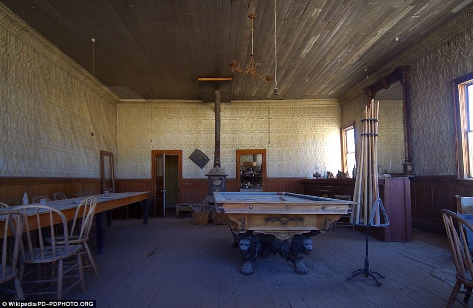 Bodie, California: In a classic representation of the Wild West, countless saloons lined the streets