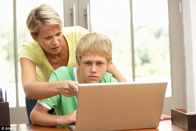Internet use monitoring Parents