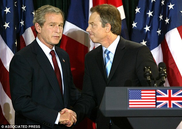 Blair said the invasion was vital to Britain's security because Saddam Hussein was developing weapons of mass destruction. Soon after Western forces reached Baghdad, it was clear that no such weapons existed