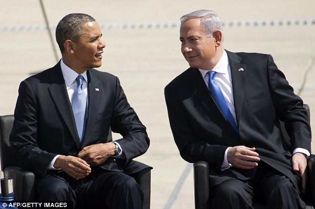 'To tell the truth, they can't stand one another,' a commentator for Israel's Channel 10 television said of Obama and Netanyahu just as Air Force One landed in Israel