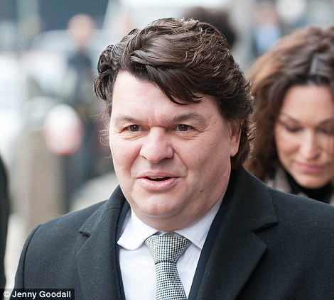 Eastenders actor Jamie Foreman - the son of former gangster Freddie Foreman - attended the funeral