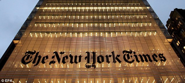 Reaction: In a powerful editorial, the New York Times warned the 'unwieldy regulations' would 'chill free speech and threaten the survival of small publishers and internet sites'