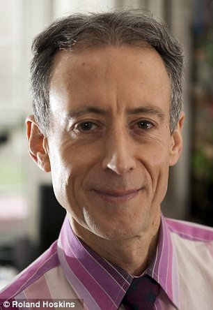 Meeting: Mr Welby has agreed to talk to gay-rights campaigner Peter Tatchell about same-sex marriage