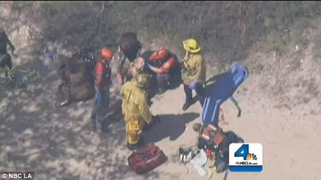 High school senior 17 dies after falling off cliff while