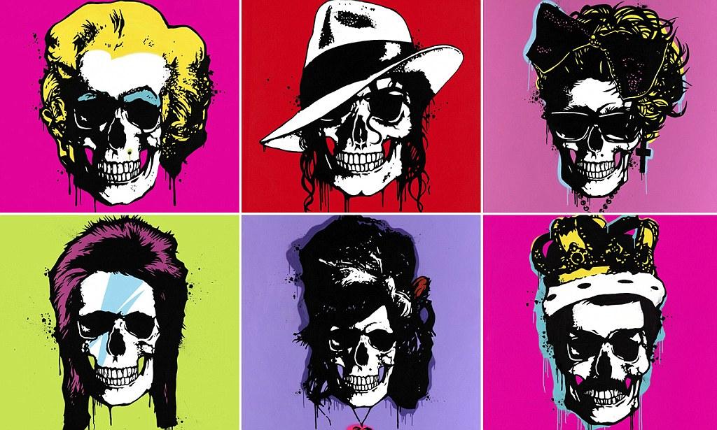 Pop artist George Ioannou recreates Michael Jackson