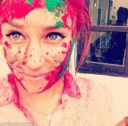 lauren conrad accidentally dyed