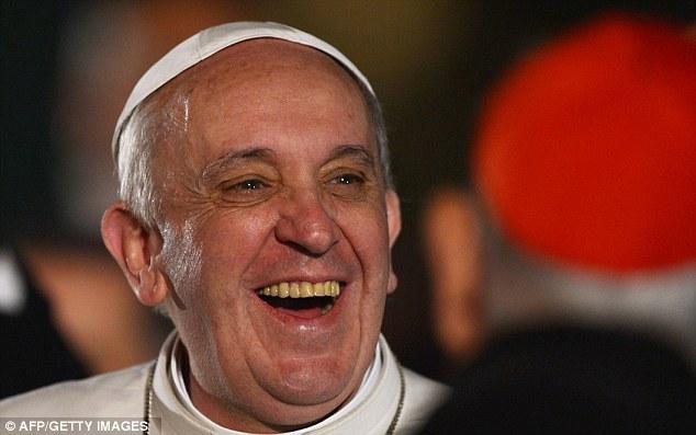Imagini pentru papa francisc evil