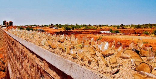 The ecologically sensitive zone in Karnataka