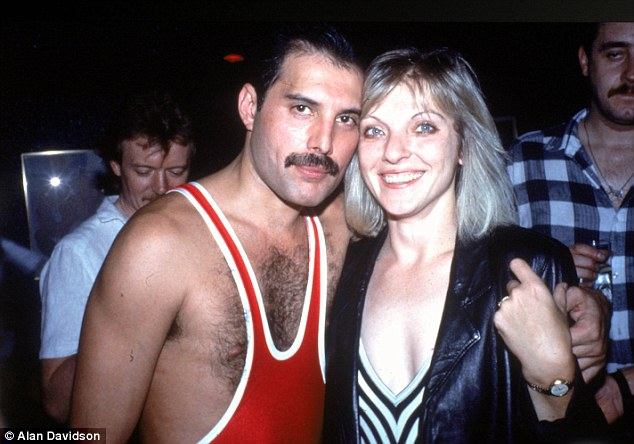 Mary Austin (right) was trusted with the location of Freddie Mercury's ashes. She has said that she will never tell anyone where they are, as was his wish