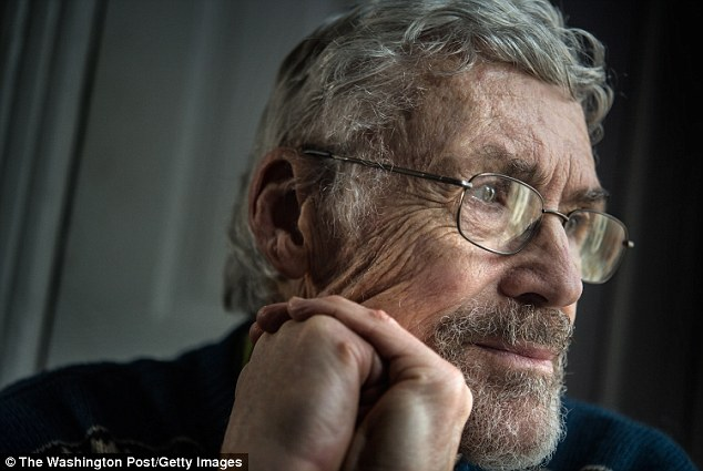 Illness: David Hilfiker was diagnosed with Alzheimer's disease in September 2012 and in the months since, says he has remarkably experienced 'one of the happiest periods in [his] life'