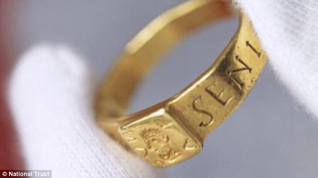 Tolkein's inspiration? The tale of this 'cursed' Roman ring discovered in a field by a farmer in Silchester, Hampshire, in 1785, may have inspired JRR Tolkien to write The Hobbit