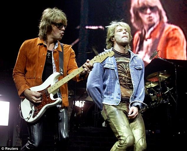 Bon Jovi Star Richie Sambora Pulls Out Of World Tour Due