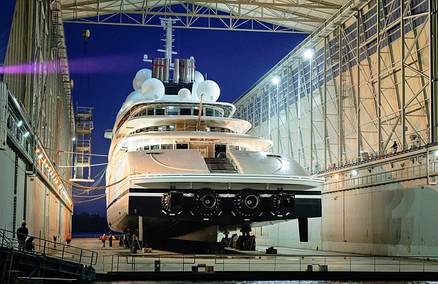 No expense spared: Azzam has taken one year to design and three years to build