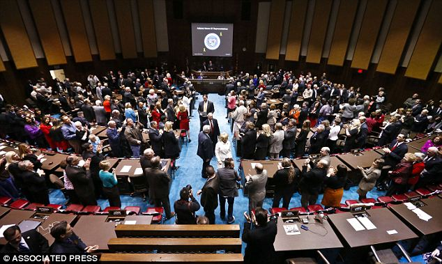 Angry Arizonans: The Arizona House of Representatives passed the law through and now it continues through the process before it goes ahead an is enacted in the state