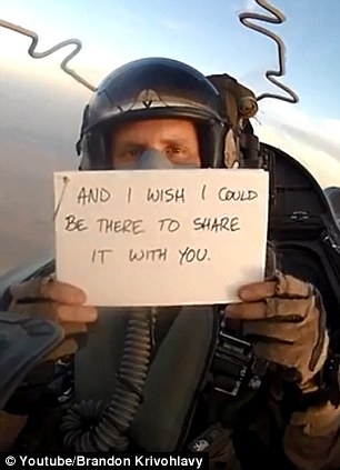 Meet The Best Brother Ever! Pilot Writes Messages On Cards