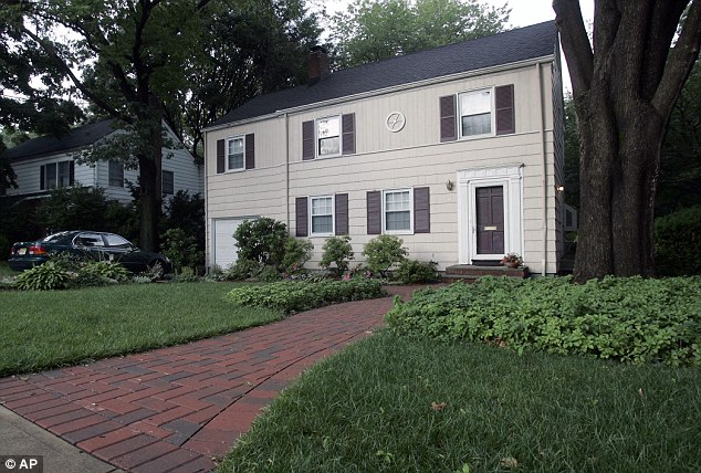 Spies' den: The Montclair, NJ, house where KGB agents 'Richard Murphy' and 'Cynthia Murphy' were arrested by the FBI has been put up for sale by the U.S. Marshals Service